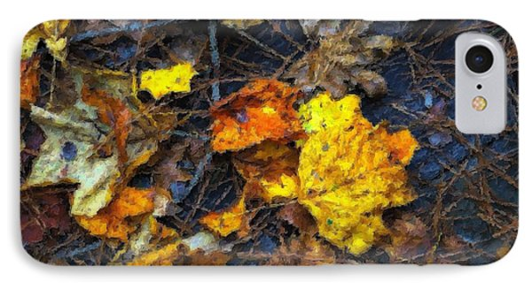 IPhone Case featuring the photograph Colors Of Fall by Ludwig Keck