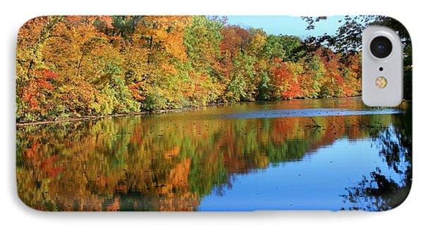 Colors Of Fall Phone Case by Susan  McMenamin
