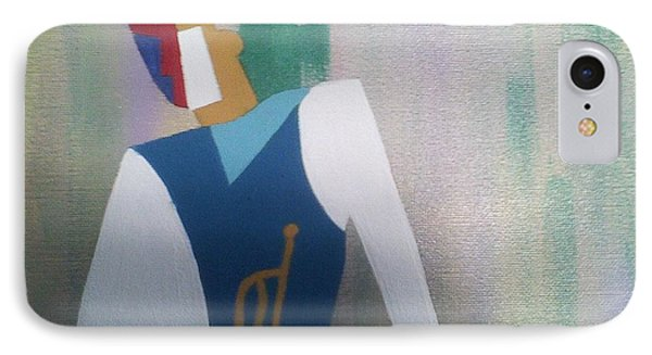Colors Of Jazz IPhone Case by Lew Griffin