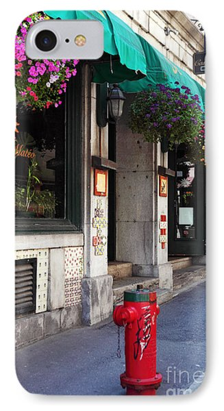 Colors Of Montreal IPhone Case by John Rizzuto