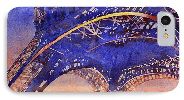 Colors Of Paris- Eiffel Tower IPhone Case