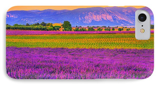 Colors Of Provence Phone Case by Midori Chan