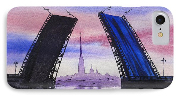 Colors Of Russia Bridges Of Saint Petersburg IPhone Case by Irina Sztukowski