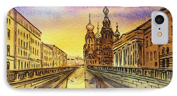 Colors Of Russia St Petersburg Cathedral I IPhone Case by Irina Sztukowski