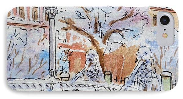 Colors Of Russia Winter In Saint Petersburg IPhone Case by Irina Sztukowski