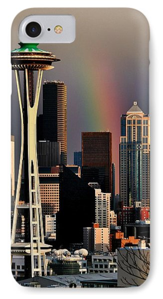 Colors Of Seattle Phone Case by Benjamin Yeager