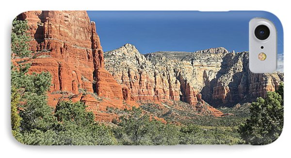 IPhone Case featuring the photograph Colors Of Sedona by Penny Meyers