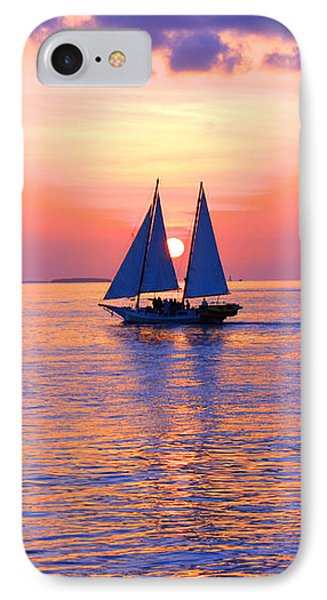 Colors Of Sunset IPhone Case by Iryna Goodall