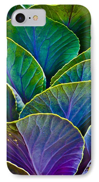 Colors Of The Cabbage Patch Phone Case by Christi Kraft