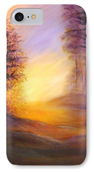 Colors Of The Morning Light IPhone Case by Lilia D