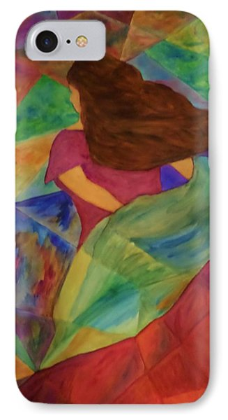 IPhone Case featuring the painting Colors Of The Wind by Christy Saunders Church