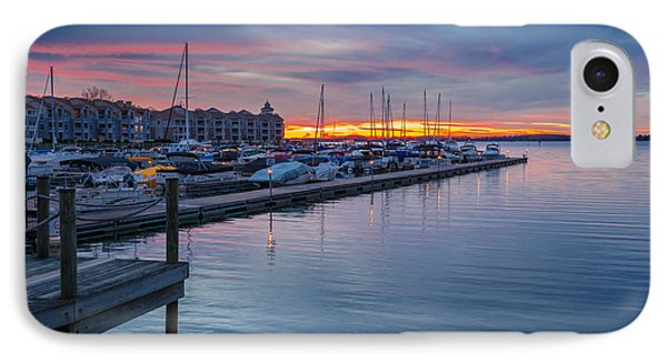 Colors Of Twilight IPhone Case by Serge Skiba