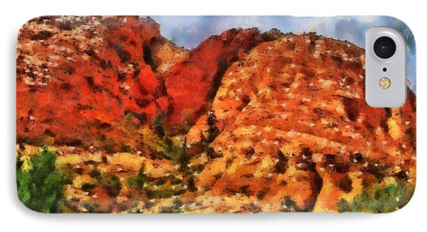 Colors Of Zion IPhone Case by Dan Sproul