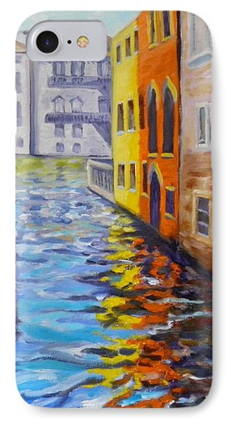 Colors On The Canal IPhone Case