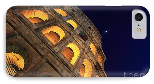 Colosseum At Night Phone Case by Stefano Senise