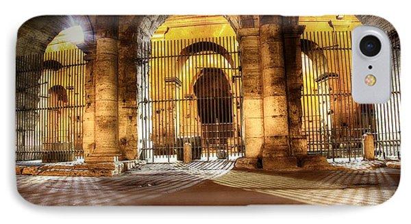Colosseum Lights IPhone Case