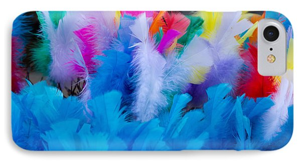 Coloured Easter Feathers IPhone Case
