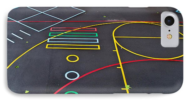 Colourful School Playground IPhone Case