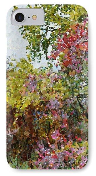 Colourful Spring Garden IPhone Case