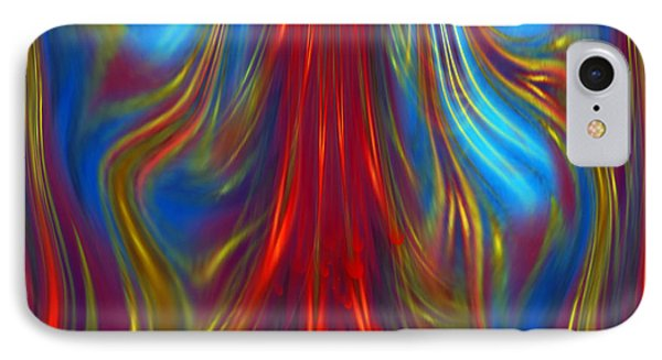 IPhone Case featuring the digital art Colours Fiesta - Abstract Art By Giada Rossi by Giada Rossi