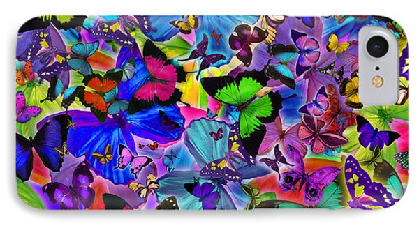 Colours Of Butterflies Phone Case by Alixandra Mullins