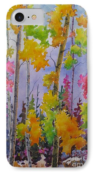 Colours Of Fall Phone Case by Mohamed Hirji