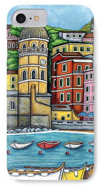 Colours Of Vernazza Phone Case by Lisa  Lorenz
