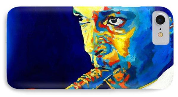 Coltrane-blu IPhone Case by Vel Verrept