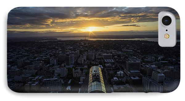 Columbia Center Sunrise IPhone Case