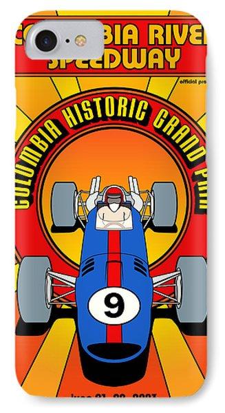 Columbia Historic Grand Prix IPhone Case by Georgia Fowler