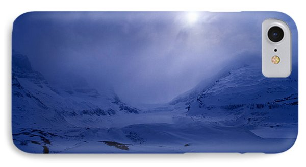 Columbia Icefields In Wintertime IPhone Case