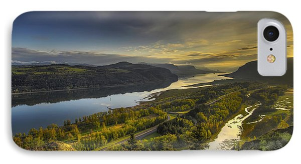 Columbia River Gorge At Sunrise IPhone Case