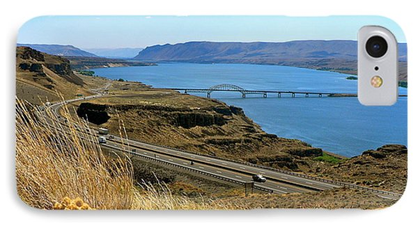Columbia River Vantage Point IPhone Case