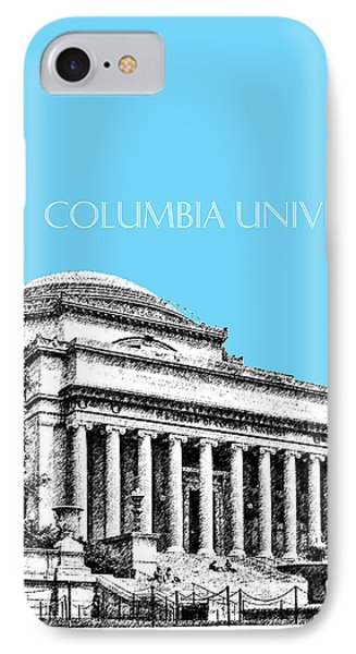 Columbia University - Sky Blue IPhone Case by DB Artist