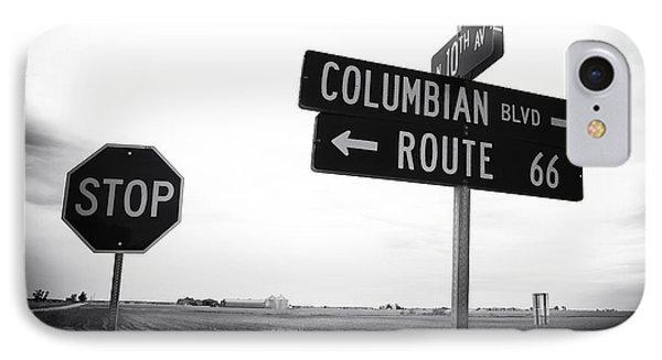 Columbian Boulevard Phone Case by John Rizzuto
