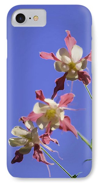 IPhone Case featuring the photograph Columbines by Sherri Meyer