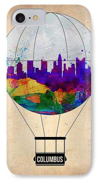 Columbus Air Balloon IPhone Case