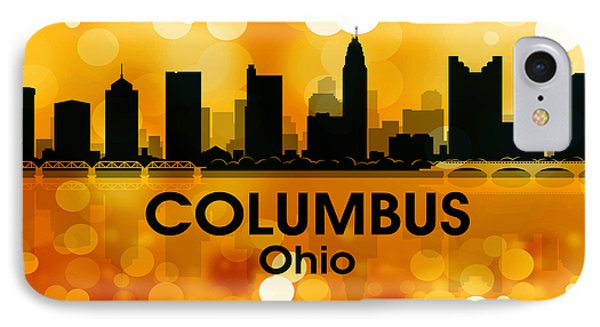 Columbus Oh 3 Phone Case by Angelina Vick