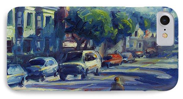 Columbus Street IPhone Case by Rick Nederlof