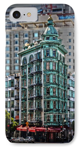 Columbus Tower In San Francisco Phone Case by RicardMN Photography
