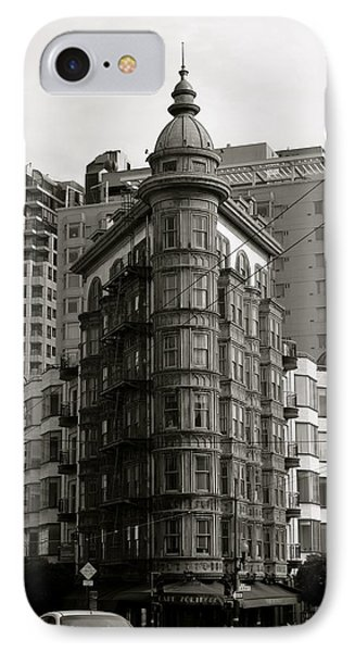 Columbus Tower San Francisco IPhone Case by Alex King