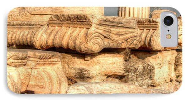 Columns Of The Parthenon Phone Case by Deborah Smolinske