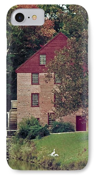 Colvin Run Mill IPhone Case by Greg Reed