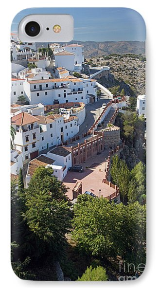 IPhone Case featuring the photograph Comares Village by Rod Jones
