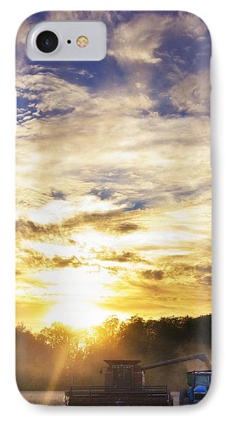 Combine At Sunset IPhone Case