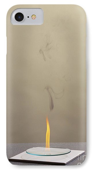 Combustion Of An Alkene Phone Case by Martyn F. Chillmaid