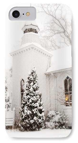 IPhone Case featuring the photograph White Christmas In Maryland Usa by Vizual Studio
