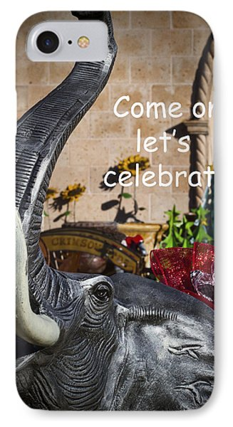 Come On Let's Celebrate Phone Case by Kathy Clark