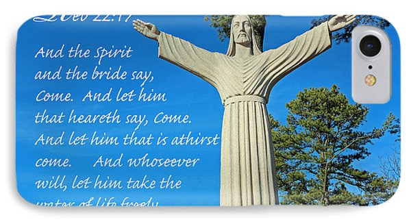 Come To Jesus IPhone Case by Lorna Rogers Photography