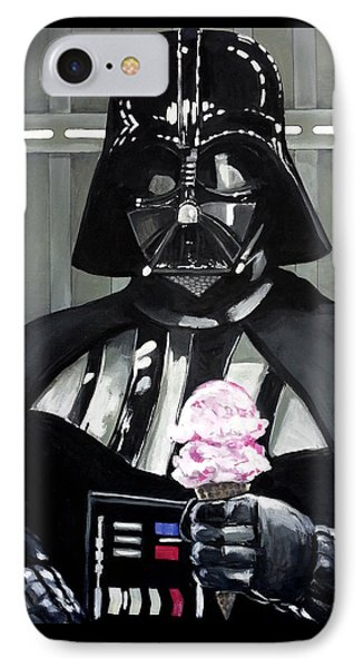 Come To The Dark Side... We Have Ice Cream. IPhone Case by Tom Carlton